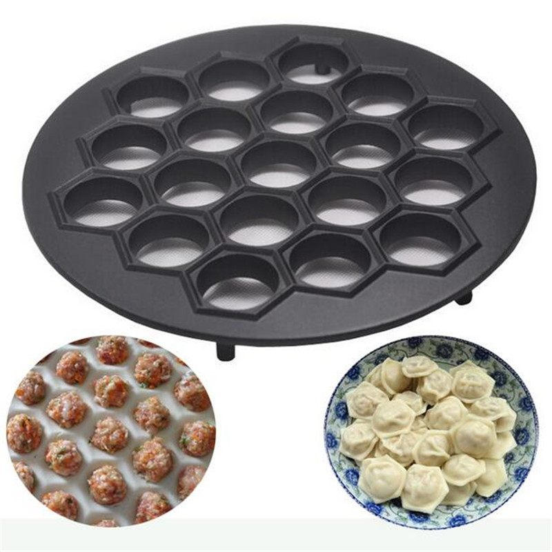 2016 Big Size Dumplings Tool 19 Holes Dumplings Maker Mold