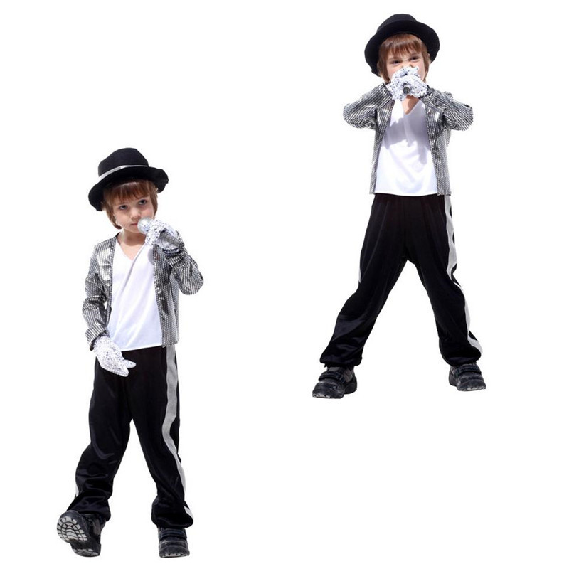 Image 5 - Halloween Michael Jackson Cosplay Costume Superstar Singer Dance Suits Christmas New Year Party Dress