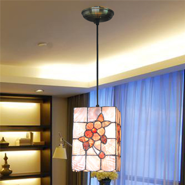 110V-220V Free Shipping Shell Pendant Light Fixtures D30cm With 2 Lights For Dinner Room E27 Excluded CE And FCC Quality