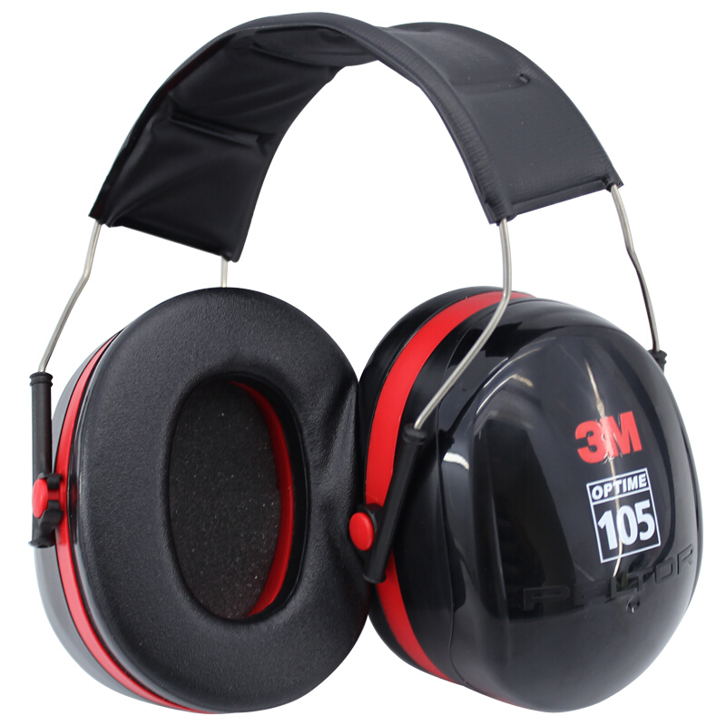 3M H10A Safety Protective Earmuffs Professional Soundproof Ear muffs Headset Sound Insulation Anti-noise Hearing Protector 30dB