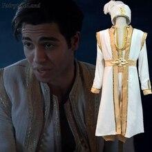 2019 film Aladdin Cosplay Costume Halloween Prince Costumes pour adulte jasmin et la lampe magique Aladdin tenue avec chapeau