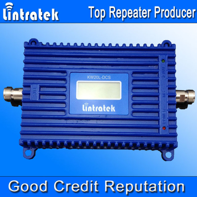 Pantalla LCD! nueva GSM 1800 Mhz DCS Repetidor Móvil de la Señal Del Teléfono Celular Repetidor Booster Amplificador Receptores Amplificador Enhancer
