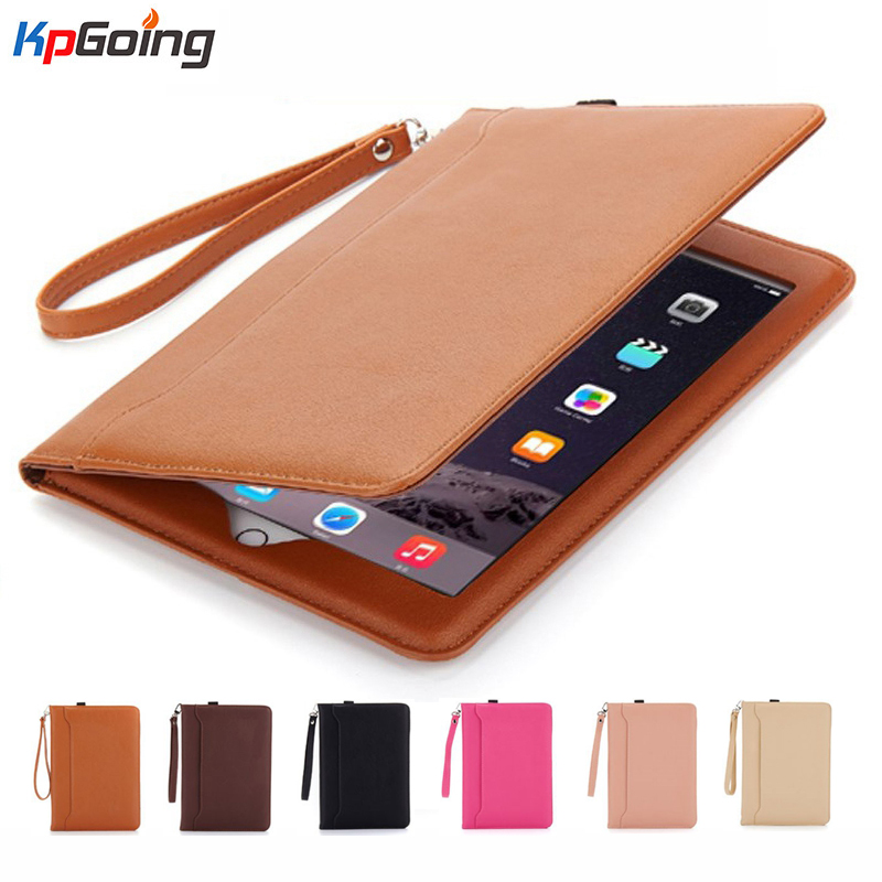 KpGoing Smart Wake Up Sleep Case For ipad Pu Leather Flip Stand for iPad Air