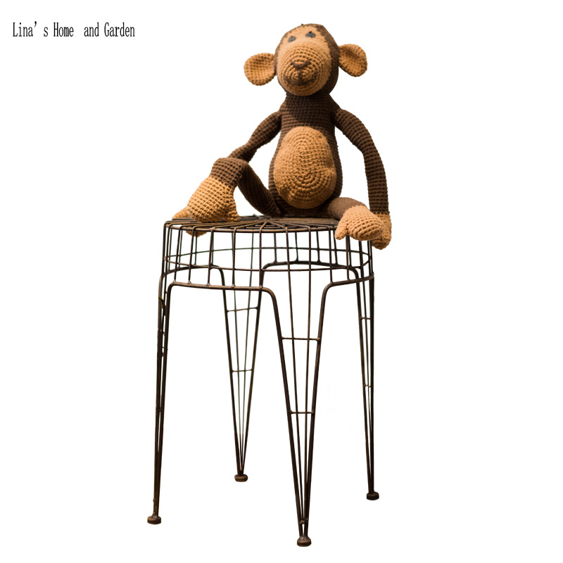 Incredible Us 37 57 Metal Wire Square Antique Loft Stool In Stools Ottomans From Furniture On Aliexpress 11 11 Double 11 Singles Day Alphanode Cool Chair Designs And Ideas Alphanodeonline
