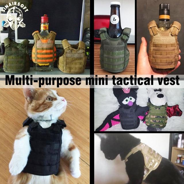 Tactical Premium Beer Military Molle Mini Miniature Hunting Vests Beverage Cooler Adjustable Shoulder Straps United States 6