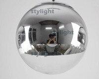 Diameter 35cm Diameter 40cm Dinning room living room bar light chandelier Mirror Ball pendant lamp Modern glass suspension light