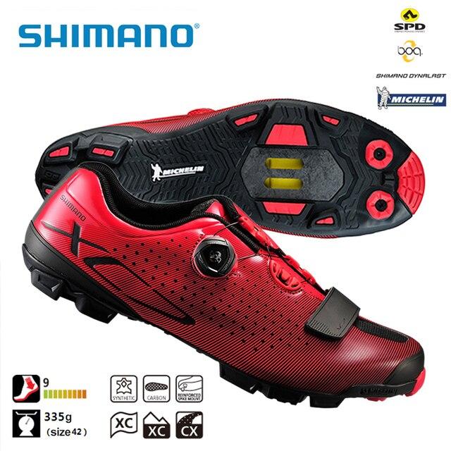 Fibra Carbonio Scarpe Bici Spd Sh Sl Shimano Mtb Da In Xc7 Di q8SpY