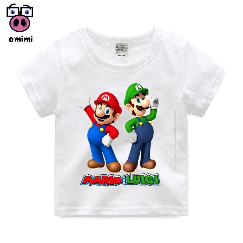 2 14 Year Old Cartoon Super Mario With Luigi Children