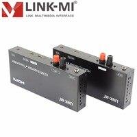 LINK-MI LM-EX41 HDMI Extender met IR en Looping hdmi-uitgang Meer dan 3800 M transmit afstand HDMI extender over Anywire 1080 P