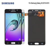 AMOLED For SAMSUNG Galaxy A5 2016 A510 LCD Display Touch Screen Phone Parts For Samsung A510 Screen LCD Replacement