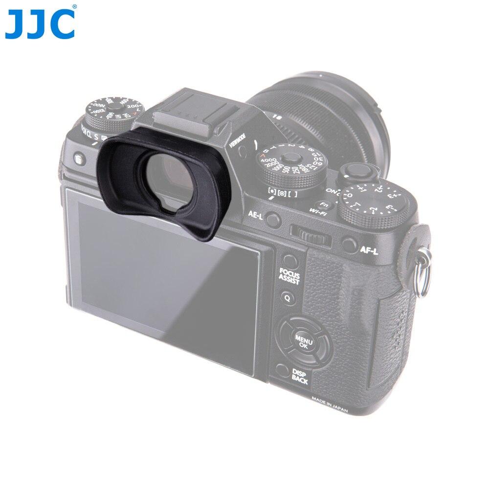 JJC Eyecup Silicone Eyepiece Viewfinder Eye Cup For Fujifilm X-T1/X-T2/GFX-50S replaces EC-XT L/EC-GFX/EC-XT M/EC-XT S dslr Foto