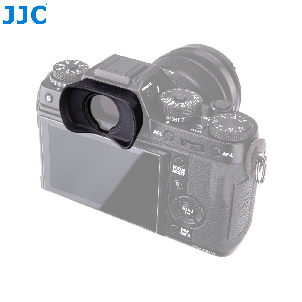 JJC Ocular Ocular Do Visor Ocular de Silicone Para Fujifilm X-T1/X-T2/GFX-50S substitui EC-XT L/EC-GFX/ EC-XT M/EC-XT S dslr Foto