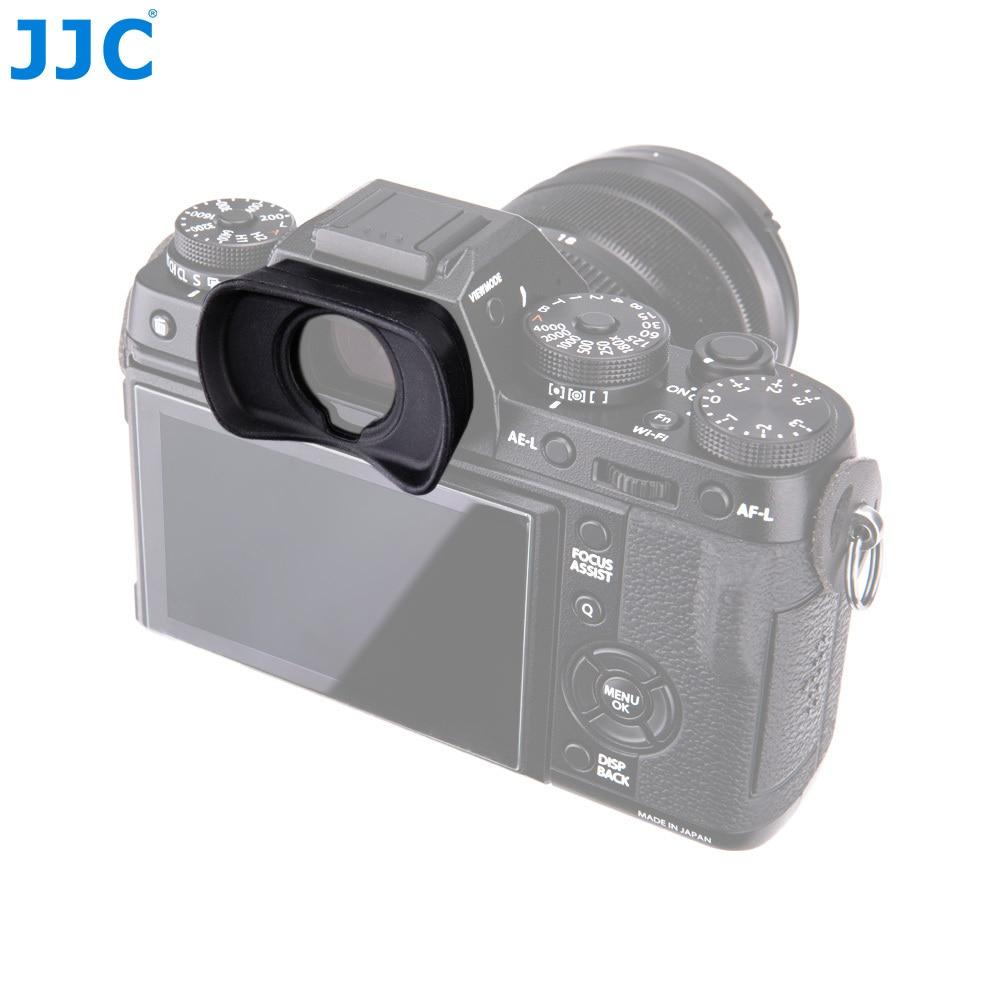 Jjc eyecup silicone ocular visor copo olho para fujifilm X-T1/X-T2/GFX-50S substitui EC-XT l/EC-GFX/EC-XT m/EC-XT s dslr foto