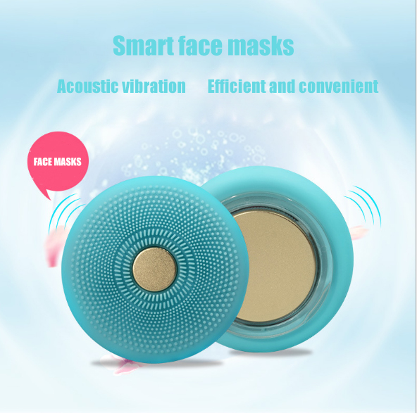 UFO Smart Mask Spa Beauty Tech Revolutionizes Tool LED Thermo Activated Face Mask Device Washing Instrument Cleansing Beauty