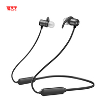 WKY 2018 New Arrival Bluetooth Earphone Waterproof Wireless Earphones For Sports Super Bass Stereo Headphones With