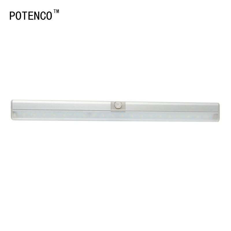 Potenco 20 светодиодные панели Беспроводной Сенсор кабинет Лампы для мотоциклов инфракрасный Средства ухода за кожей детектор движения индукц…