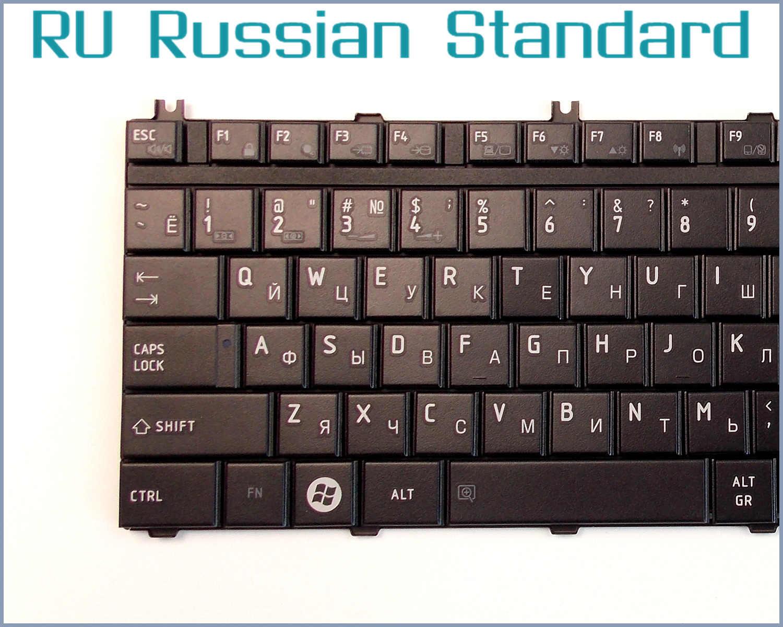 รัสเซียRUแป้นพิมพ์สำหรับโตชิบาMP-06873US-930 6037B0039102 MP-08H73US6930 V000190180 NSK-TB801 9J. N9282.A01แล็ปท็อป/โน๊ตบุ๊ค