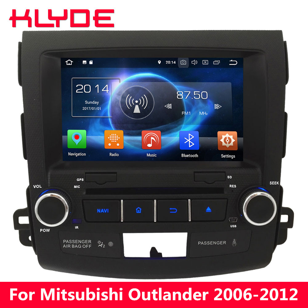 KLYDE Octa Core Android 8 4GB RAM 32GB ROM Car DVD Player Radio For Peugeot 4007/Citroen C-Crosser 2007 2008 2009 2010 2011 2012 topnavi 10 1 octa core android 8 1 2 32gb head unit car radio for lexus is250 is350 2005 2006 2007 2008 2009 2010 2011 3g rds