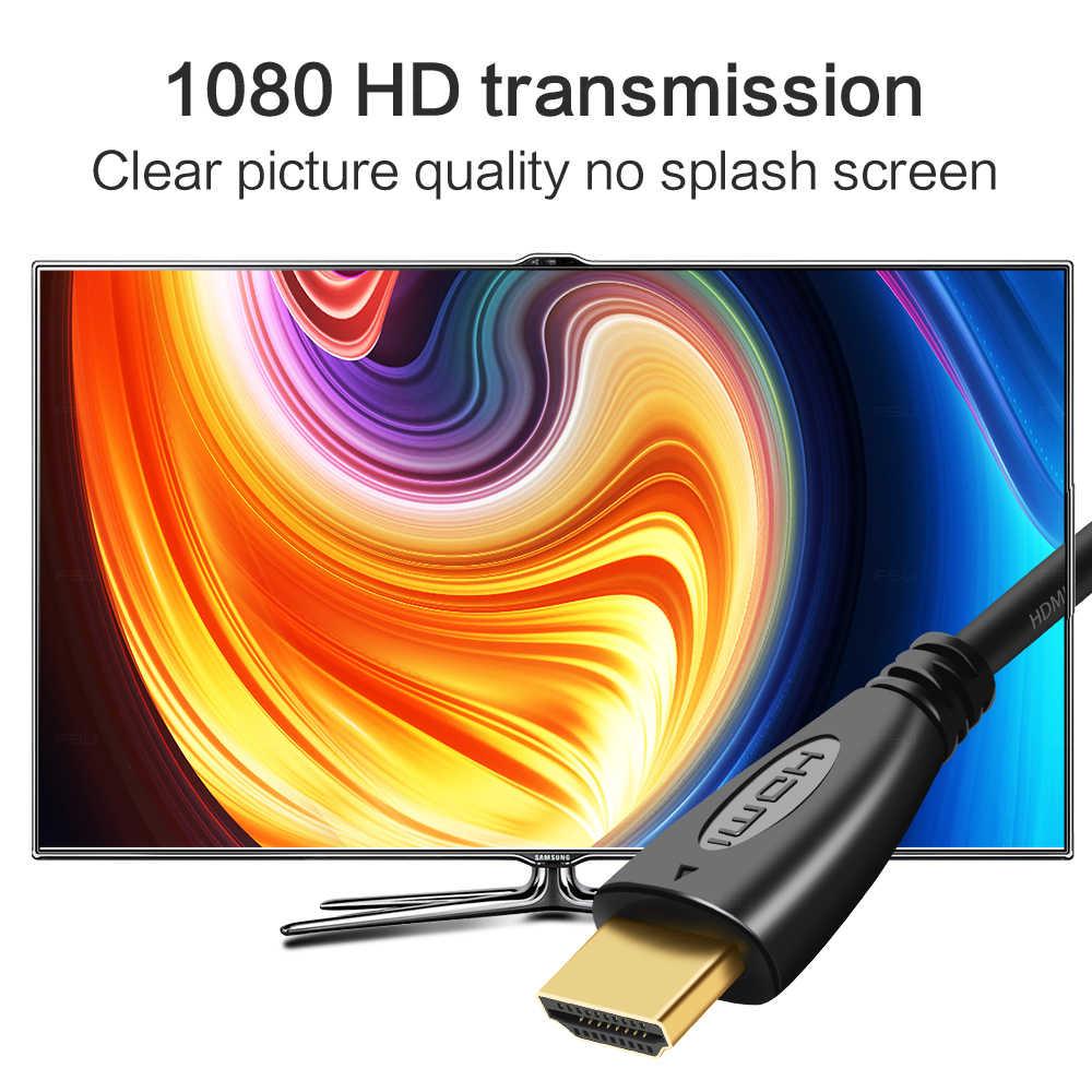 الاتحاد السوفياتي السابق HDMI كابل الفيديو كابلات الذهب مطلي 1.4 1080P 3D كابل ل HDTV الخائن الجلاد 0.5m 1m 1.5m 2m 3m 5m 10m 12m 15m 20m