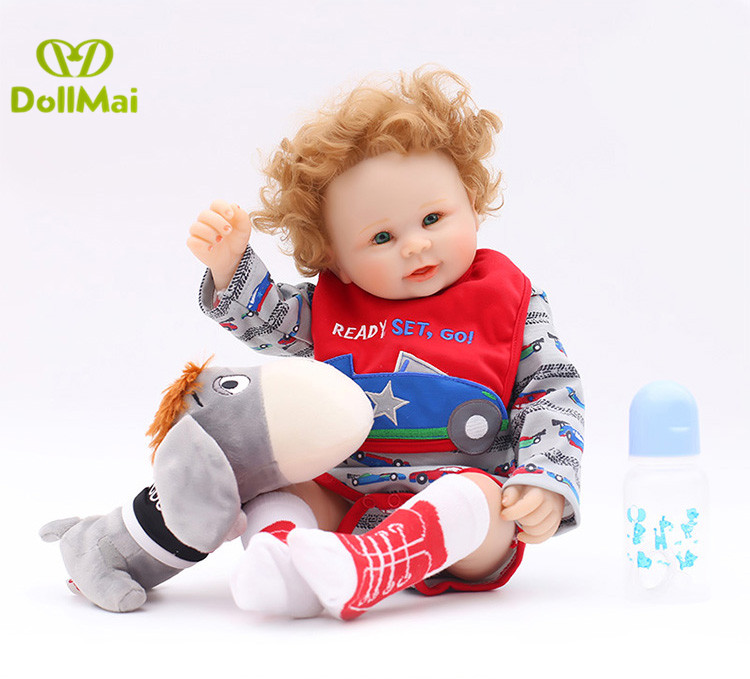 50cm reborn Full silicone babies dolls 20inch lifelike  bebe alive toddler kids birthday Xmas gift play house toys for sale50cm reborn Full silicone babies dolls 20inch lifelike  bebe alive toddler kids birthday Xmas gift play house toys for sale