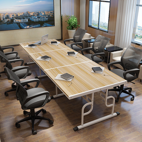 Us 545 99 9 Off Conference Table Office Furniture Commercial Panel Steel Modern Tables 120 75cm 240 360 On
