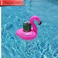 Новинка 2017  1 шт./лот  милый розовый Фламинго  Плавающий надувной держатель для напитков  бассейн  игрушка для ванны  бассейн  кольцо для плава...