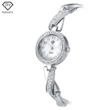 FTV Gold Bracelet Watch Women Rhinestone Watches Ladies New with Tags Female Wristwatch Fashion Elegant Relogio