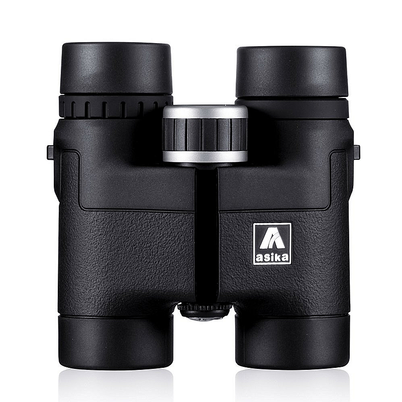 Asika 8x32 Compact Binoculars for Bird Watching HD Military Telescope for Hunting and Travel with strap High Clear Vision Black easyguard car security alarm system with pke passive keyless entry remote lock remote engine start stop keyless go system dc12v