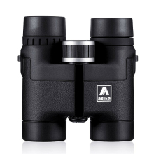 Asika 8×32 Compact Binoculars for Bird Watching HD Military Telescope for Hunting and Travel with strap High Clear Vision Black