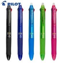 2 Pieces Pilot Frixion Pen 3 in 1 Erasable Gel Pen 3 Colors 0.5 mm LKFB 60EF 0.38 mm LKFB 60UF Pastel Colors Japan