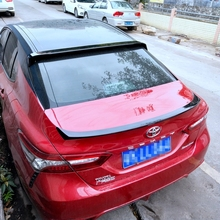 For toyota Camry 2018 high quality and hardness ABS material rear window spoiler by primer or DIY color paint camry spoilers new design for toyota camry 2018 high quality and hardness abs material spoiler by primer or diy color paint camry spoilers