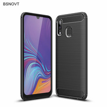 For Samsung Galaxy A40 Case Soft TPU Silicone Anti-knock Phone Cover A405F SM-A405F/DS