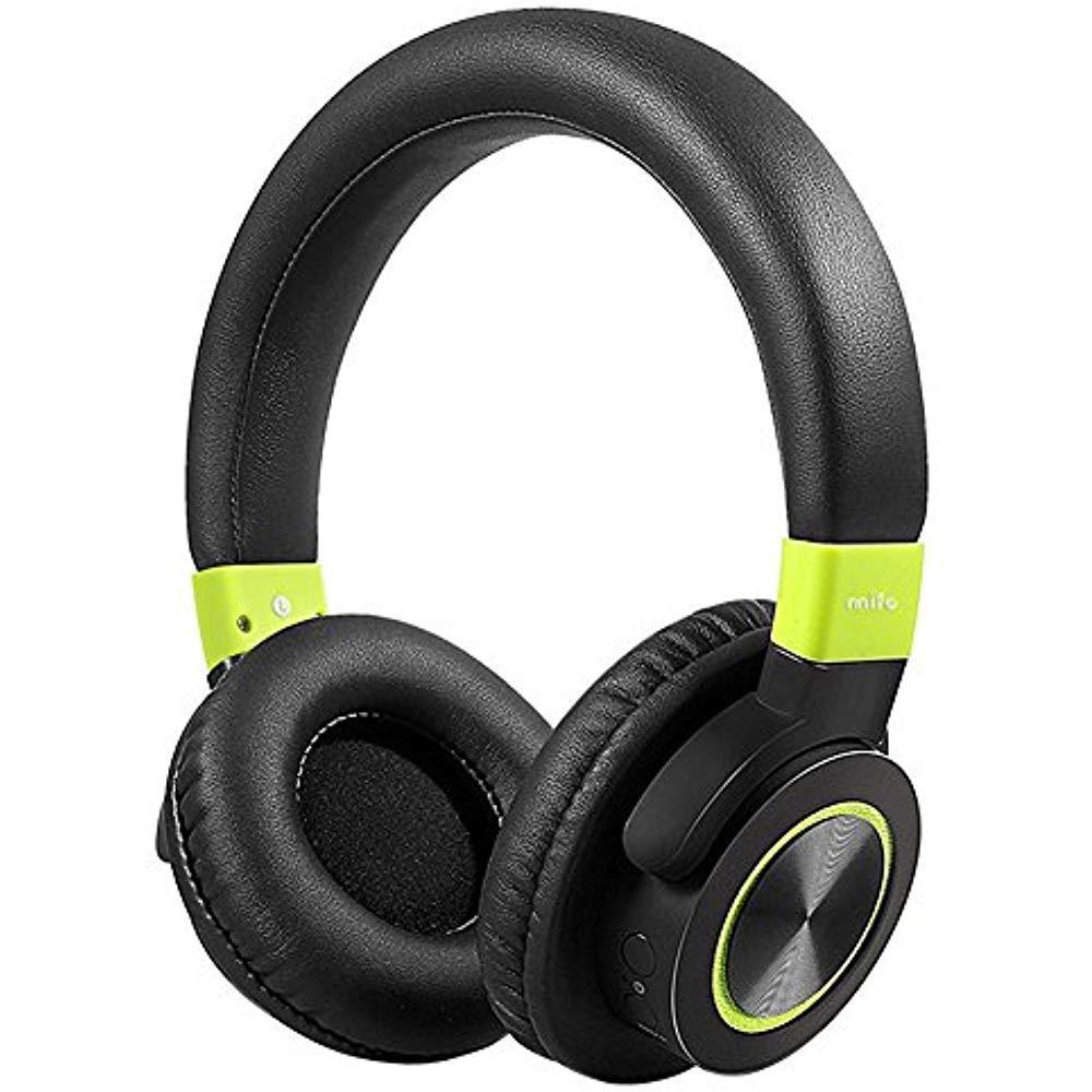 Mifo F2 Bluetooth Casque Sur L'oreille, Salut-fi Stéréo Sans Fil Casque W/Confortable Protéine Coussinets souples, 50 heures de Lecture, Fil