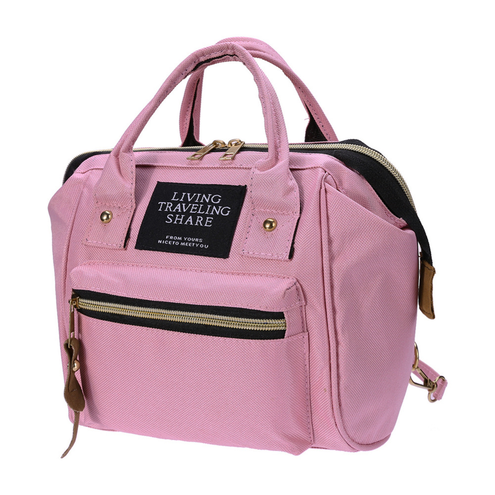 Multifunctional Diaper Bags For Mom 2019 Mummy Maternity Bag Pink Black Nursing Handbags Mini Backpack Baby Care Ny In From Mother