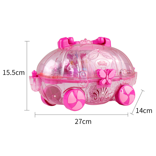 Fashion Princess Makeup Kit Pretend Play For Kids Birthday Gift Cosmetic And Moveable Palette Toys
