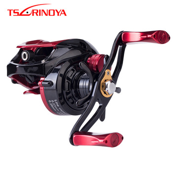 TSURINOYA 6.6:1 Hight Quality Ulttra Light Bait Casting Reel Left Right Hand 2 Model Metal Spool Baitcasting Reel Fishing Reels