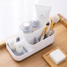 MeyJig коробка для хранения косметики Органайзер большой емкости витрина для макияжа чехол для кисти Губная Помада держатель стол ванная комната Органайзер