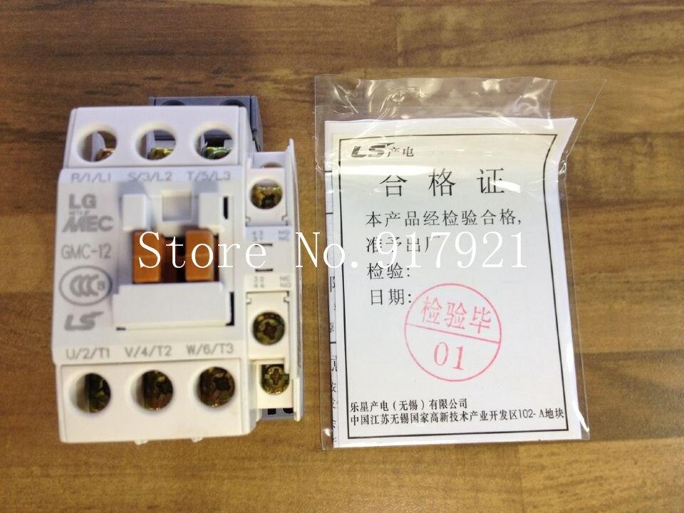 [ZOB] South Koreas original MEC GMC-12 power 220V AC contactor to ensure genuine fake a lose ten --10pcslot