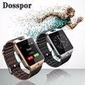Dz09 smart watch para apple teléfono android soporte sim tf pk gt08 smartwatch u8 reloj inteligente inteligente portátil electrónica de valores