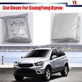 New Car Cover UV Anti Rain Snow Resistant Protector Cover Sun Shade For SsangYong Kyron Top Quality !