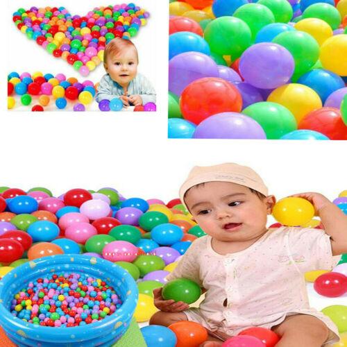 Brand New 20/50/100PCS Kids 5.5cm Pit Balls Baby Toys Ocean Balls For Play Pool Fun Colorful Soft Plastic Ocean Ball