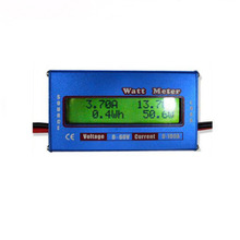 Promotion 10Pcs/lot RC Watt Meter Checker DC 60V 100A Balance Voltage Battery Power Analyzer Blue