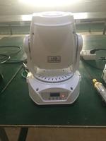 2PCS/Lot aliexpress white housing color 90watt led beam moving head gobo project for dj dmx light led spot disco lighting