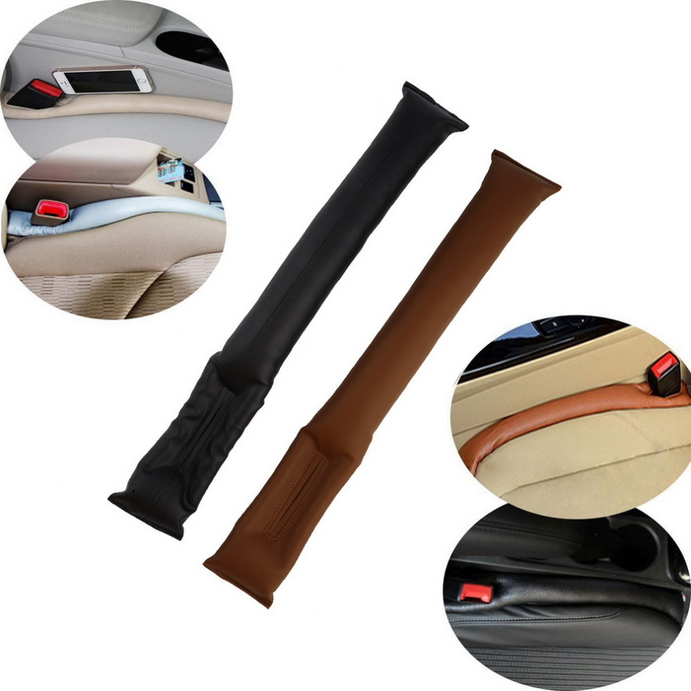 Kunstleer Autostoel Gap Pad Vulstoffen Holster Spacer Padding Beschermhoes Auto Cleaner Slot Plug Stopper Gap Filler sticker