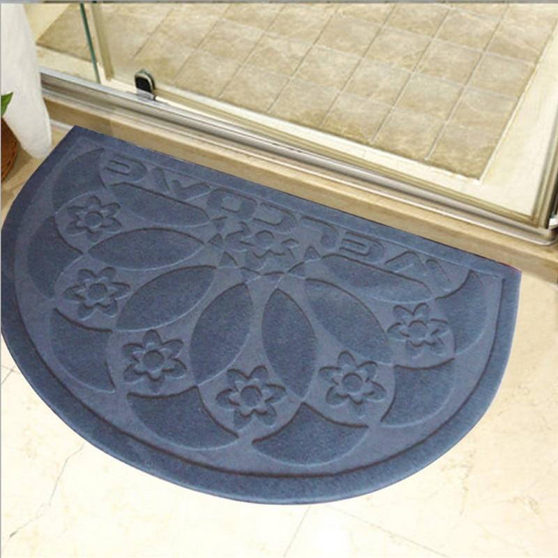 50*80cm Non Slip Bathroom Carpet Floor Bath Mat Semi