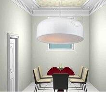 Modern Home White Color  Smithfield Semicircle Pendant Light Circle Dining Room Light Restaurant Lamp D35/48/60CM Free Shipping