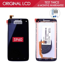 100% Tested IPS 1920×1080 LCD For LENOVO S960 Display Vibe X S960t LCD With Touch Screen Digitizer Assembly Replacement