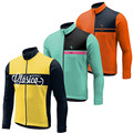 17 color Winter Thermal Fleece Cycling Jersey 2016 long sleeve Ropa ciclismo hombre Bicycle Wear Bike Clothing maillot Ciclismo