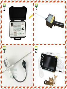 Ultrasound Visual-Insemination Pregnancy-Artificial Dog-Semen VET Uterus Collection-Ovulation