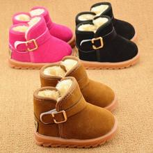 Girls Snow Boots Winter Boys Boots Children Boots Thick Warm Shoes Kids ankle boots footwear newborn shoes